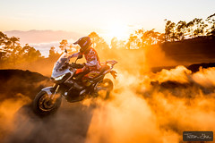 Donuts with Michael Metge (Tristan Shu) Tags: action actionphotography canarias canariasislands canaries canary canaryislands es espagne europe ilescanaries moto motorbike photography spain sport sports tenerife tristanshu tristanshuphotography photo wwwtristanshucom