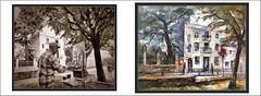 L'AMETLLA DEL VALLÉS-PINTURA-PINTANDO-CASAS-MODERNISTAS-MODERNISMO-BARCELONA-CATALUNYA-FOTOS-CUADROS-ARTISTA-PINTOR-ERNEST DESCALS (Ernest Descals) Tags: lametlladelvallés pintura art arte artwork modernisme modernism modernistas paisatge paisatges paisaje paisajes landscaping landscape paint barcelona catalunya catalonia cataluña cases edificios edificis casas villaelvira laametlla pinturas pintures quadres cuadros arquitectura historia history pintar pintando pintant pintor pintors urban village poble pobles catalans catalanes pintores ernestdescals fotos arboles paisajeurbano painter painters painting paintings ajuntament patrimonio patrimoni poeticos plastica artistes artistas artista artist plasticos paisajistas ceramica fachadas house concurs concurso concursos airelibre airelliure