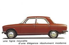 1970 Peugeot 304 (Hugo-90) Tags: peugeot 304 ads advertising brochure car auto bil voiture 1970