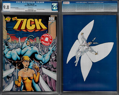 THE TICK NUMBER 3 7TH EDITION 10 ANNIVERSARY FRONT AND BACK (vsndesigns) Tags: beta the tick vs arthur sentinel prime optimus successor townsend coleman lego minifig minifigure dcon 2014 ball mylar balloon buttons bonanza pencil indie shocker gbjr toys with tie and tshirt zombie in a steel box fox promotional totally kids magazine 45 club spoon taco bell meal commercial eli stone ben edlund little wooden boy comic book merchandise rare limited edition 80s 90s collector museum naked super hero heroine collection photo screen text