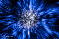 The Blue Void (Holfo) Tags: nationaltrust treetops trees zoomburst blue nikon d750 abstract blur spiral blurred wierd effects thevoid entering strange eyepopping centre branches