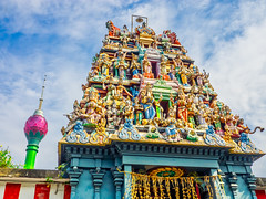 Sri Selva Vinayagar Hindu Temple with Lotus Tower