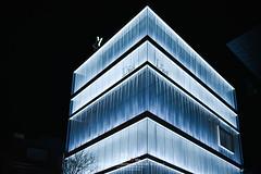 Dior_Omotesando (Pop_narute) Tags: dior shop store retail building architecture sanaa architect night light tokyo japan omotesando