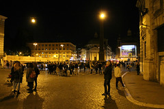 Il Piazza del Popolo (Flint Foto Factory) Tags: rome roma italy italia urban city autumn fall november novembre 2017 vacation piazza delpopolo beautiful wide open space historic