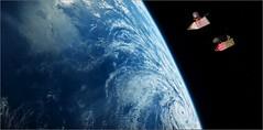 Gosig - movie space pirates 01 (rainer_eric) Tags: gosig mouseman space movie spielfilm adventure abenteuer weltraum pirates earth raumschiffe piraten maus mouse spaceshuttle