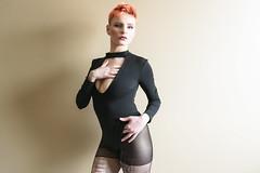 Ashley Friday: Non-Stop Erotic Cabaret (_city_of_broken_dreams_) Tags: nikon nikond750 d750 pinup light people woman blueeyes shorthair bodysuit portrait