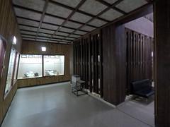 Castle floor1 _orig_LG (Hazbones) Tags: iwakuni yamaguchi yokoyama castle kikkawa suo chugoku mori honmaru ninomaru demaru wall armor samurai spear teppo gun matchlock map ropeway