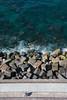 Pasealeku Berria (Andrés MC) Tags: españa donostia san sebastián sea spain water ocean rocks cantábrico urgull