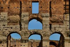 Antichi archi (Tati@) Tags: archi colosseo arches ancient ruins