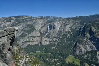 Yosemite Valley from Glacier Point Lookout I