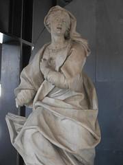 Statua di Violante Cebà Grimaldi Salvago in foggia di Annunciata (chiara7171) Tags: museo genovaliguriamuseo violante cebà grimaldi salvago filippo parodi di santagostino ospedale degli incurabili infermeria delle donne