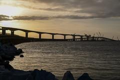OBX - Bridge over the Oregon Inlet (Golfer Chris) Tags: nikon d850 nikond850 obx bridge shore water ocean carolina northcarolina