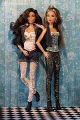 the jeans girls fashion photoshoot (photos4dreams) Tags: barbie mattel doll toy diorama photos4dreams p4d photos4dreamz barbies girl play fashion fashionistas outfit kleider mode puppenstube tabletopphotography aa beauties beautiful girls women ladies damen weiblich female funky afroamerican afro schnitt hair haare darkskin africanamerican puppe blonde blond canoneos5dmark3 canoneos5dmarkiii spielzeug collectorsbarbie collector zoe blue dress gown bodice christmasbarbie2016 holidaybarbie2016 ©photos4dreams ooak oneofakind handpainted unique custom custommade portrait