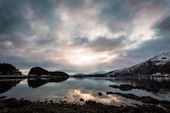 (wyrickodiak_9) Tags: kodiak island alaska sunset clouds ocean harbor mountain pillar turbine turbines
