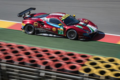 WEC 6 Hours of Spa 2018. AF Corsa Ferrari 488 GTE EVO (jason..mc) Tags: stavelot wallonie belgium wec 6hoursofspa francorchamps ferrari afcorsa 488 gte motorsport motorracing