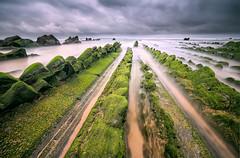 Green Season. (darklogan1) Tags: sonyilce7rm3 canonef1635mmf4 green storm seascape longexposure basquecountry barrika flysch spring cantabriansea logan darklogan1