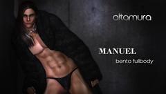 MANUEL BENTO FULL BODY IS OUT!!!!! (Altamura Bento Avatar) Tags: rumegusc altamura manuel promo bento fullbento male avatar secondlife