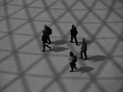 Walking Through the Shadows (davepickettphotographer) Tags: greatcourt uk london city cityoflondon greatrussellstreet britishmuseum museum british england