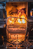 Open fire (B Hutchison) Tags: xt1 beamish museum fire colour warmth open fireguard metal shiny reflections