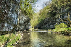 Chee Dale Stepping Stones (amber654) Tags: england derbyshire cheedale peakdistrict peaknationalpark nationalpark naturereserve nature riverwye river limestone dale valley water steppingstones stones panasonic lumix lumixtz60 tz60