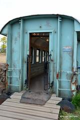 Open (Ilona67) Tags: hek wagon deur hff blauw emmen dierentuin wildlands