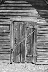 Shed Door (Neal3K) Tags: henrycountyga georgia heritagepark mcdonoughga ir infraredcamera kolarivisionmodifiedcamera
