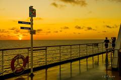 Carnival Magic (幻影留梦) Tags: carnival magic cruise ship port canaveral orlando florida recreation fun ocean sea vacation serenity mexico bay gulf island caribbean blue sky cloud water sun sony sel24105g golden hour