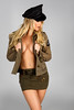 recruitment officer (Colby Files Photography) Tags: lindseylockwood beauty beautyful blonde brittanyspearsinspirred combatboots corset girl hat implied model shoot shortdress shortskirt toplessimplied