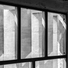 Unité d'habitation (andre.m(eye)r.vitali) Tags: square building window brutopolis bnw marseille brutalism modern brutalistcharm brutalarchitecture brutalist travel sosbrutalism blackandwhite outdoors interior concrete europe france architecture provencealpescôtedazur fr fujifilm fuji