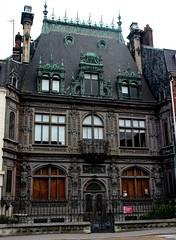 Rouen - Maison Marrou (Philippe Aubry) Tags: normandie seinemaritime valléedelaseine rouen maisonmarrou maisondelarchitectureetdupatrimoine ferdinandmarrou ferronnerie ferronnier