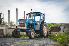 Old tractor (George Pachantouris) Tags: ardennes france belgium forest river maas meuse