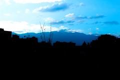 City Out (Geri Toutin Espinoza) Tags: sky blue city shadow chile providencia