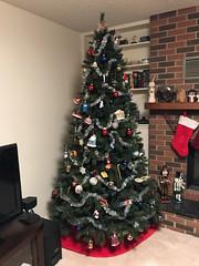 Xmas Tree 2017 3 (daryl_mitchell) Tags: winter 2017 saskatoon saskatchewan canada xmas tree home