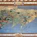 L'Asie dans la salle de la Mappemonde (Palais Farnese, Caprarola, Italie)