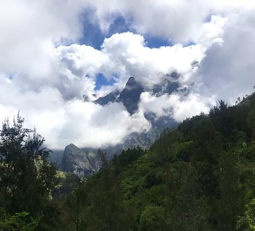 Mountain scene in Cilaos, Reunion