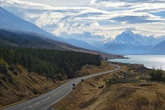 Road to Mt. Cook (Sam-Henri) Tags: newzealand southisland mtcook street road mountain lake alpine woods travel landscape explore sony rx100 mkii mk2