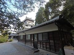 Honmaru vSE _orig_LG (Hazbones) Tags: iwakuni yamaguchi yokoyama castle kikkawa suo chugoku mori honmaru ninomaru demaru wall armor samurai spear teppo gun matchlock map ropeway