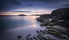 5V6A0614_red (Eivind Nielsen) Tags: karmøy åkrasand sunset beach sand sea waves longexposure ocean water reflection sky rocks filter