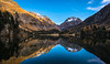 Cavloc Mirror (Daniel.Peter) Tags: engadin läghdacavloc schweiz see switzerland dpe3x lake reflection sunset
