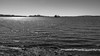 Quebec City from Orleans Island (Tasmanian58) Tags: boat ship quebeccity stlawrenceriver fleuvestlaurent stepetronille bw blackandwhite noiretblanc nb sony a7ii contax2828 zeiss vintagelens distagon