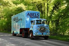 Sunny Shadows (ekawrecker) Tags: abelsmovingservices rally londonbrighton lorry trailer truck worldwide