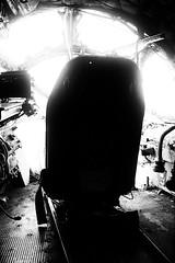 (willy vecchiato) Tags: blackandwhite monochrome biancoenero monocramatico mono space air fine art arte artistic abstract abstraction astratto astrazione aereo volo flight disastro disaster incidente incident danger grain light