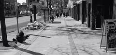 "Hard bed (Xsbmrnr (Please read profile before ""following"") Tags: acros100 acros blackandwhite bandw downtown documentary 35mm 35mmfilm film filmphotography hamilton hamiltonontario hamont hc110 ishootfilm olympusom1 olympus om1 photojournalism poverty protest street streetphotography streetpeople urban urbanphotography zuiko zuiko35mm"