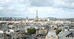 Paris from the top of Notre-Dame (szeke) Tags: eiffel paris france cityscape panorama notredame