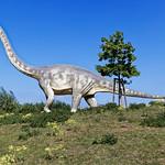 Dinosaurier mit Landschaft thumbnail