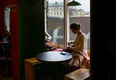 In cafe (Julysha) Tags: peter stpetersburg russia april spring 2016 d7100 acr nikkor2418 people cafe girl