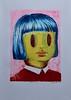 2018-01-17 Yellow Girl (Fu-Ran-Ku) Tags: silkscreen printmaking print