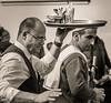 Keeping balance (kurjuz) Tags: carnival malta valletta busy navigating sailorcostume tray waiter
