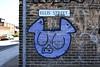 mauve 37 pig (Harry Halibut) Tags: 2018©andrewpettigrew allrightsreserved imagesofsheffield images sheffieldarchitecture sheffieldbuildings colourbysoftwarelaziness sheffield south yorkshire publicartinsheffield public art streetart graffiti murals sheff1805057732a 37 pig ellis street mauve