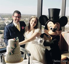 The new couple, with Mickey Mouse | MouseMingle.com